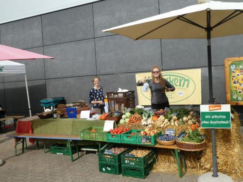 Am Umweltmarkt in Wetter